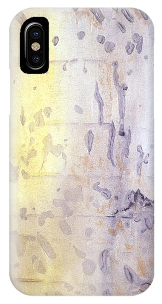Wilderness Calligraphy - Aspen Tree IPhone Case