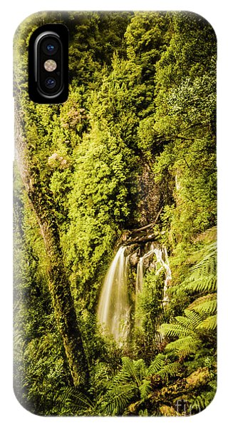 Greenery iPhone Case - Wilderness Falls by Jorgo Photography - Wall Art Gallery