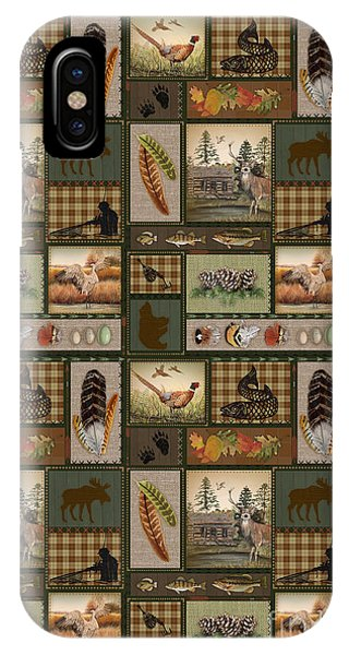 Wood Ducks iPhone Case - Wilderness Lodge-g1 by Jean Plout
