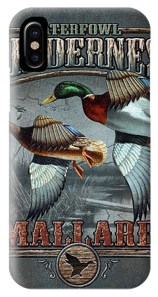 Wilderness Mallard IPhone Case