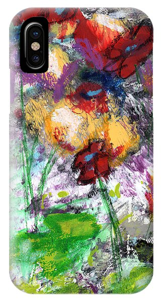 Wildest Flowers- Art By Linda Woods IPhone Case