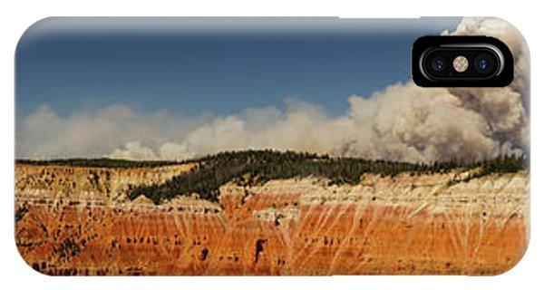 Wildfire Cedar Breaks National Monument Utah IPhone Case