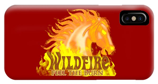 Wildfire - Feel The Burn IPhone Case