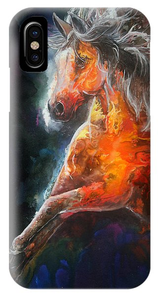 Wildfire Fire Horse IPhone Case