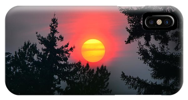 Wildfire Sunset IPhone Case
