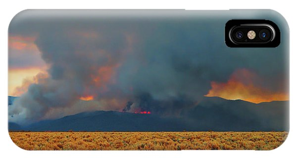 Wildfire - Taos - New Mexico IPhone Case