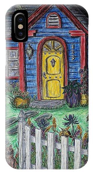 Wildflower Cottage IPhone Case