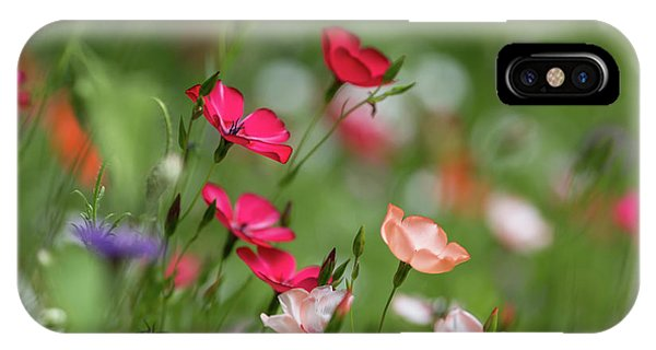 Wildflowers Meadow IPhone Case