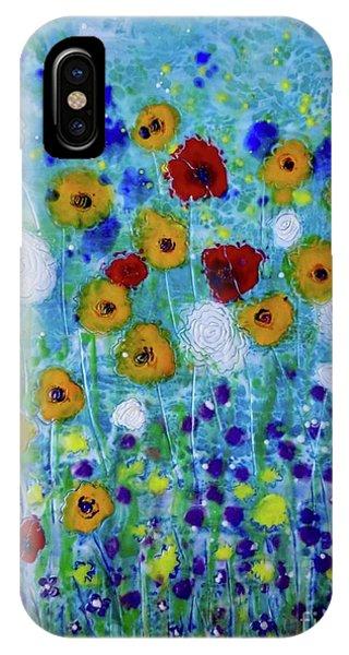 Wildflowers Never Die IPhone Case