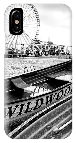 Wildwood Black IPhone Case