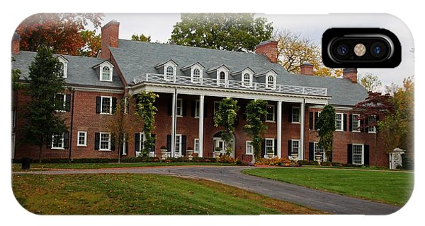 Wildwood Manor House In The Fall IPhone Case