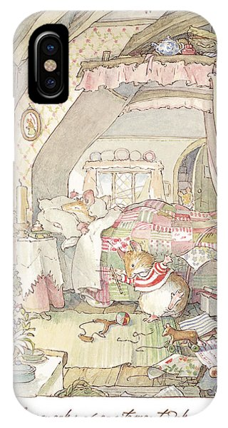 Cake iPhone Case - Wilfred's Birthday Morning by Brambly Hedge