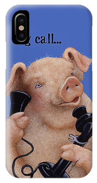 Will Bullas Phone Cover Hog Call  IPhone Case