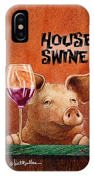 Will Bullas Phone Cover / House Swine IPhone Case