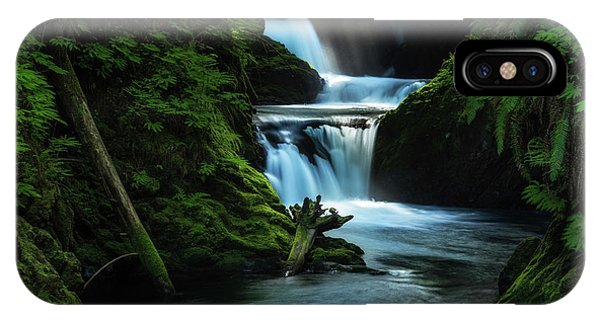 IPhone Case featuring the photograph Lush Willaby  by Expressive Landscapes Fine Art Photography by Thom