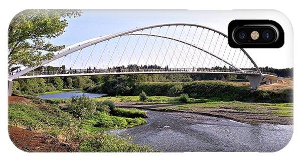 Willamette Pedestrian Bridge IPhone Case