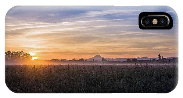 Willamette Valley Sunrise IPhone Case