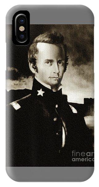William B Travis - The Alamo IPhone Case