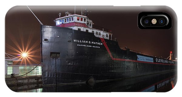 William G Mather At Night  IPhone Case