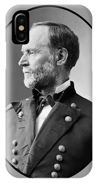 March iPhone Case - William Tecumseh Sherman by War Is Hell Store