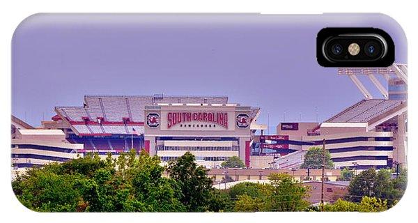 Gamecocks iPhone Case - Williams - Bryce Stadium by Lisa Wooten