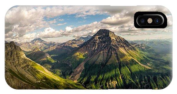 Williams Peak Alaska IPhone Case