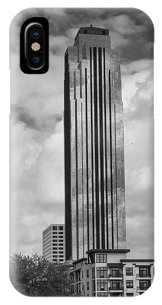 Williams Tower In Black And White IPhone Case