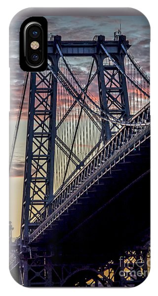 Williamsburg Bridge Structure IPhone Case