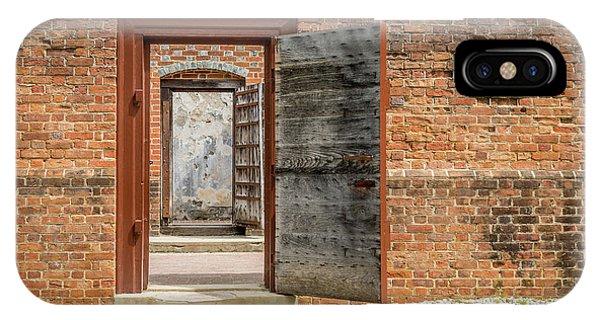 Williamsburg Public Gaol IPhone Case