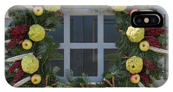 Williamsburg Wreath 83 IPhone Case