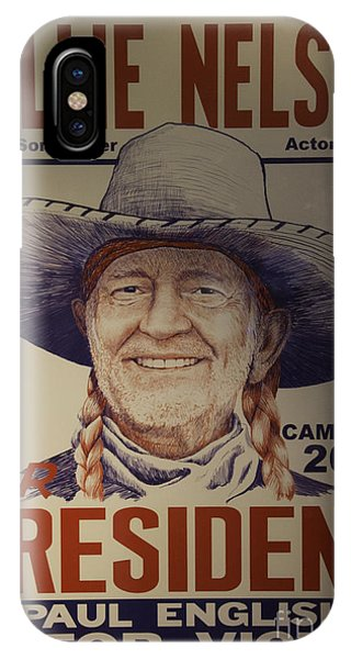 Willie For President IPhone Case