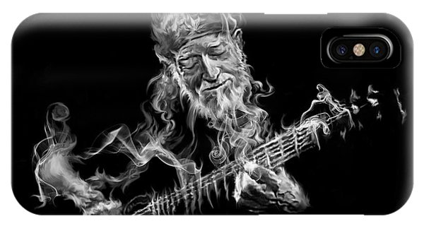 Willie - Up In Smoke IPhone Case