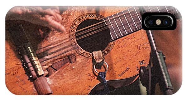 Willie's Guitar IPhone Case