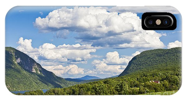 Willoughby Gap Cloudscape IPhone Case