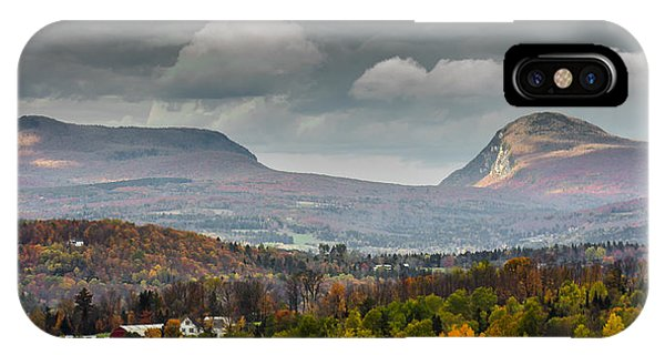 Willoughby Gap Late Fall IPhone Case