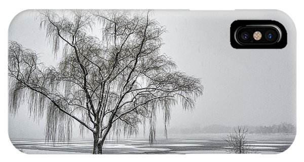 Willow In Blizzard IPhone Case