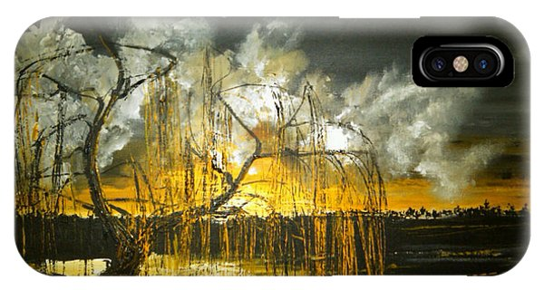 Willow On The Shore IPhone Case