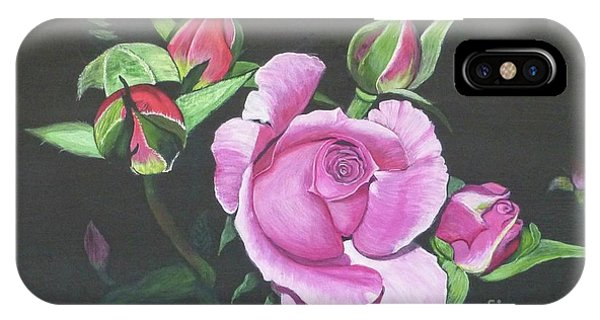 Will's Rose IPhone Case