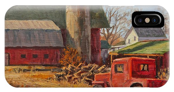 Willys Jeep At Work Phone Case by Robert Perrish