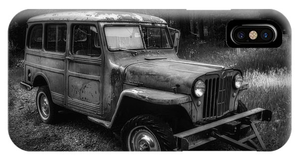 Willys Jeep Station Wagon IPhone Case