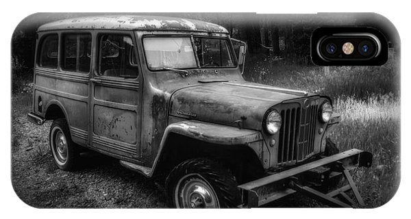 IPhone Case featuring the photograph Willys Jeep Station Wagon by Bitter Buffalo Photography
