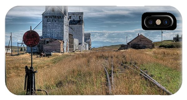 Wilsall Grain Elevators IPhone Case