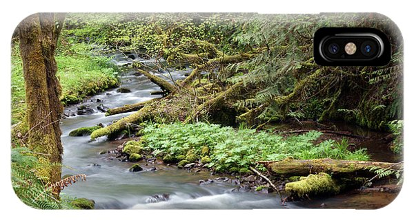 IPhone Case featuring the photograph Wilson Creek #24 by Ben Upham III