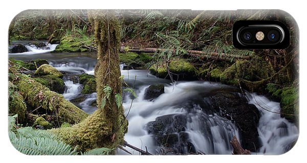 IPhone Case featuring the photograph Wilson Creek #25 by Ben Upham III