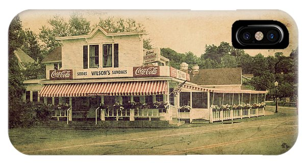 Wilson's Restaurant And Ice Cream Parlor IPhone Case