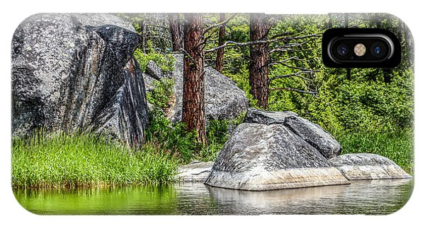 Winchester Lake Rocks IPhone Case