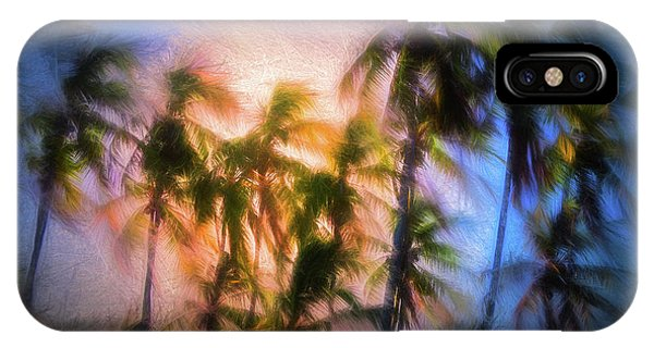 Wind And Palms IPhone Case