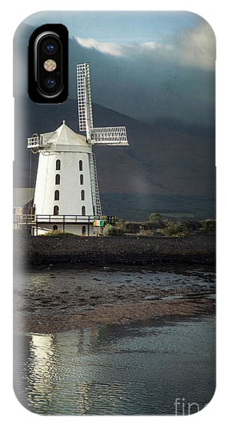 Windmill iPhone Case - Wind And Whispers by Evelina Kremsdorf