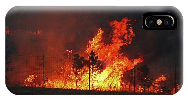 Wildfire Flames IPhone Case