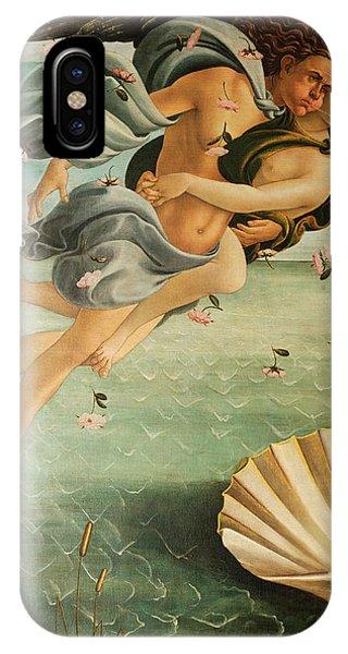 Botticelli iPhone Case - Wind God Zephyr by Sandro Botticelli